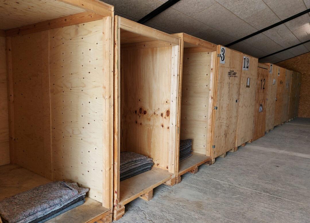 PFT lager og opbevaringskasser